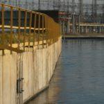 Расходомер Nivus на сбросном канале ГРЭС (ширина канала 20 м)