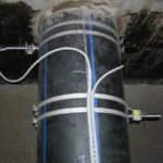 Расходомер Nivus на трубах рециркуляции охлаждающей воды ГРЭС, Россия