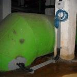 Расходомер Nivus на трубе контура охлаждения ГРЭС