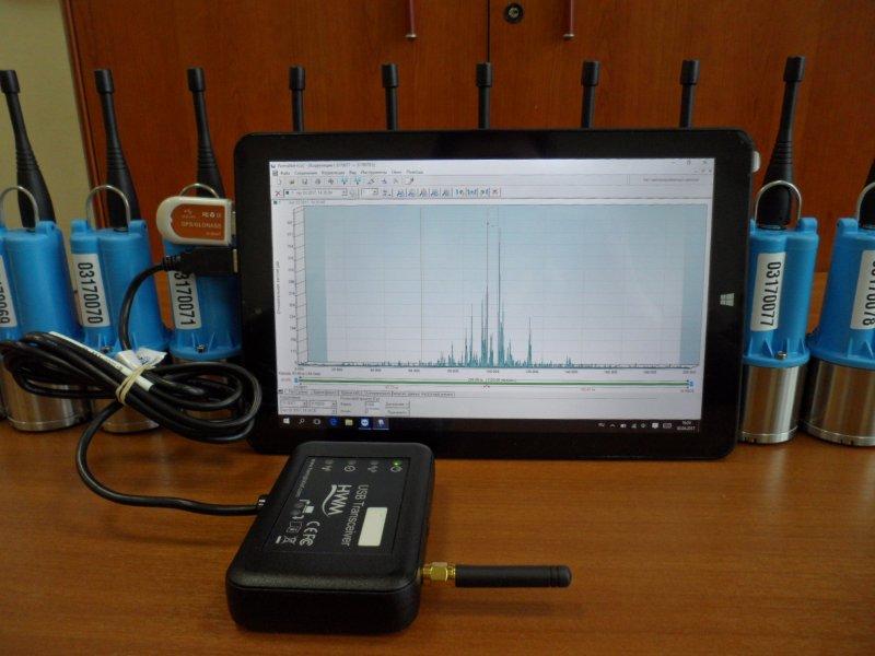 Система мониторинга утечек воды PCORR HWM с корреляцией v2