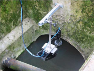 Радарный счетчик воды