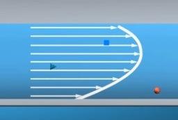 Эпюра распределения скоростей 3