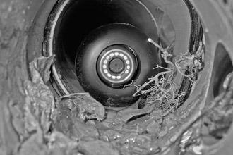 Видеокамера в трубе