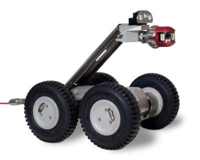 Робот для видеоинспекции трубопроводов