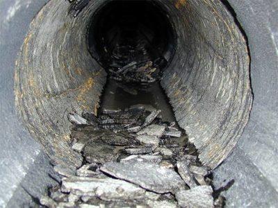 Мусор в канализации