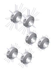 Комплекты центраторов щёточного типа