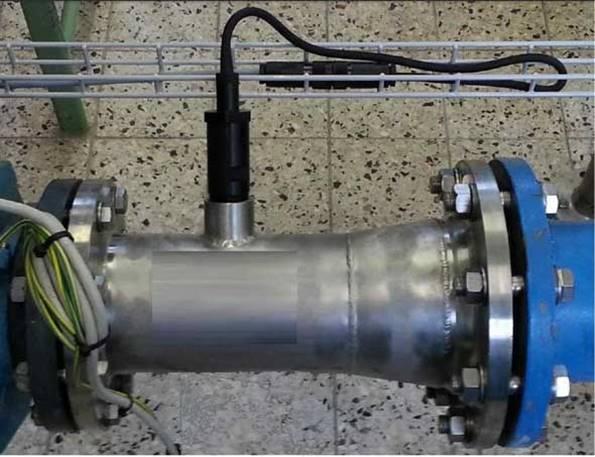Установка анализатора на трубопровод