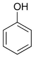 Структурная формула фенола